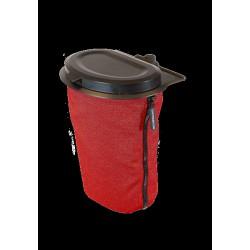 Flextrash mobiele prullenbak - 3 ltr - rood