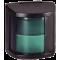 Hella Serie 2984 Stuurboordlantaarn, 12V - 25W, 112,5¦, BSH-2NM, zwart huis met groene lens