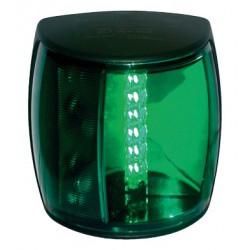 Hella NAVILED-PRO Stuurboordlantaarn, 9-33V, 112.5¦, BSH-2NM, zwart huis met groene lens