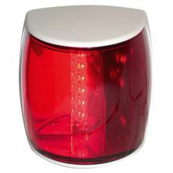 Hella NAVILED-PRO Bakboordlantaarn, 9-33V, 112.5¦, BSH-2NM, wit huis met rode lens