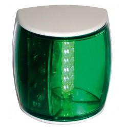 Hella NAVILED-PRO Stuurboordlantaarn, 9-33V, 112.5¦, BSH-2NM, wit huis met groene lens