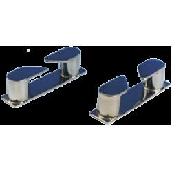 allpa RVS Verhaalklamp rechts, afm. 115x27x30mm, boegmontage