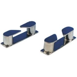 allpa RVS Verhaalklamp links, afm. 115x27x30mm, boegmontage