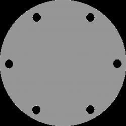 Johnson Pomp bronzen deksel voor pomp F4-F5 (vervangt Jabsco 3992)