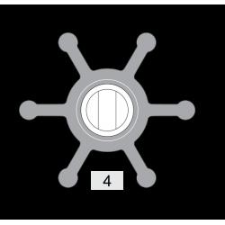 Johnson Pump impeller 806B-1