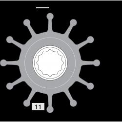 Johnson Pump impeller 812B-1