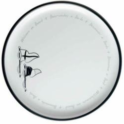27001 - Welcome Flat Plate  - 6 u.