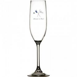 27105 - Welcome Champagne Glass  - 6 u.