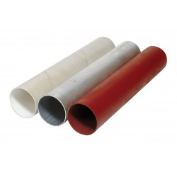 Glasv verst polyester tunnel D 110mm L 1,0 m