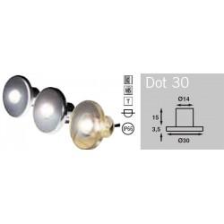 BÕtsystem Dot 30 LED, matzilver