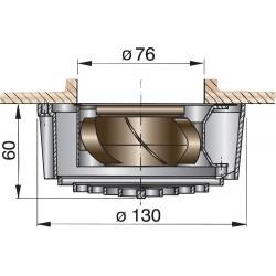 Elektrische vent 24V (0,1A)