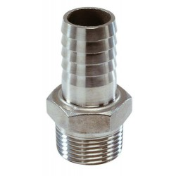 Slangtule rvs AISI316 G1 - 25 mm