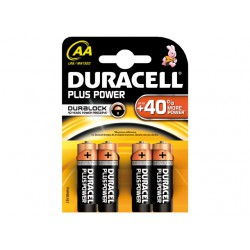 DURACELL PLUS MN1500, AA, 4-PACK