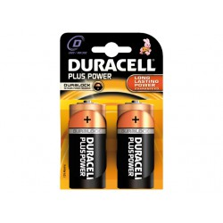 DURACELL PLUS MN1300, D, 2-PACK