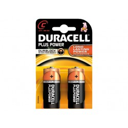 DURACELL PLUS MN1400, C, 2-PACK