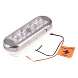 BIMINI LAMP BUIS OF VLAKKE MONTAGE MET SCHAKELAAR 12-24V