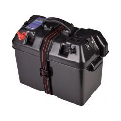 ACCUBAK MET QUICKFIT AANLSUITING MAX 30A & 2X12V EN ACCUTESTER