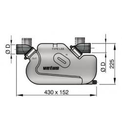 Waterlock type LSS , D 45 mm
