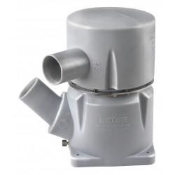 Kunststof waterlock MGP in 127mm -45 Gr-uit 127mm