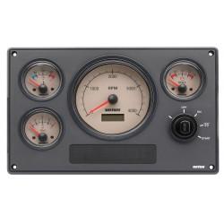 Motorpaneel type MP34 12V, Linea Nost (0-4000 rpm)