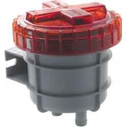 Geurfilter voor dieselolie 16mm (5-8 ) slangaansluiting
