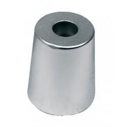 Conische moer anode hexagonaal 30mm