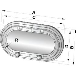 Patrijspoort type PM111 CE-A1 220x122