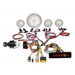 Paneelbedrading motor- instrumenten, 12V, waarschpanl