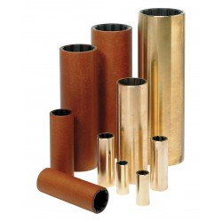 Rubberlager as 30mm bm=45mm, l=120mm, kunststof