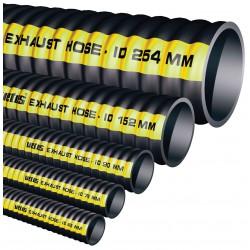 Meter uitlaatslang rubber, D 127mm