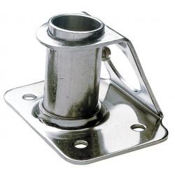 Scepterpot, roestvast staal, schuin -> hoek van 6 graden
