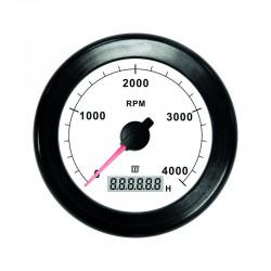 Toerenteller 100mm wit 4000 RPM