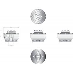 Flexibele koppeling type Uniflex16 as D 40mm