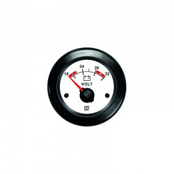 Voltmeter wit 24 V