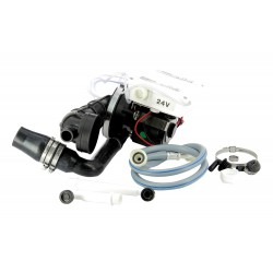 Set: 24V motor WCL1-WCS1 incl. vermaler met drukknop