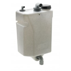 Vuilwatertank 60ltr voor wandbevestiging