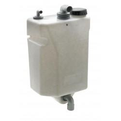 Vuilwatertank 80ltr voor wandbevestiging