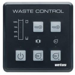 Controlepaneel voor vuilwater