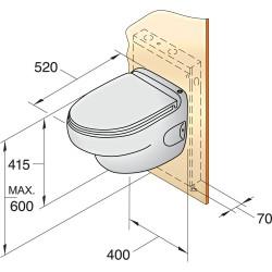 Toilet type HATO, 12V