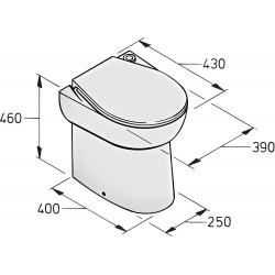 Toilet type WCS 24V