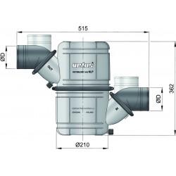 Waterlock type NLP50S met extra grote inhoud