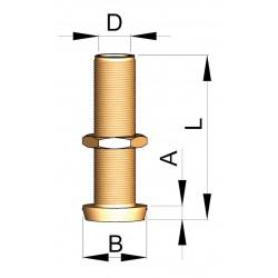 Hennegatskoker 30mm
