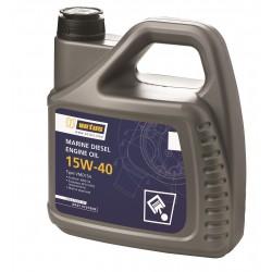 VETUS Marine Diesel Oil SAE 15W-40, 1 liter verpakking