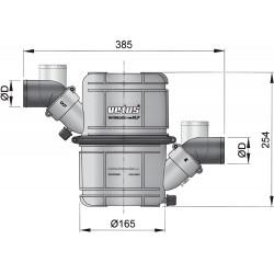 Waterlock heavy duty type NLP45HD