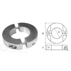 allpa Aluminium Anode voor Ï50mm-as ringvormig-dun