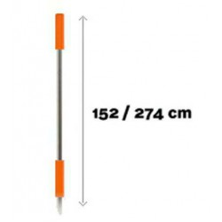 Deckmate Handle Telescopic Long | 156-278cm | 61-109inch