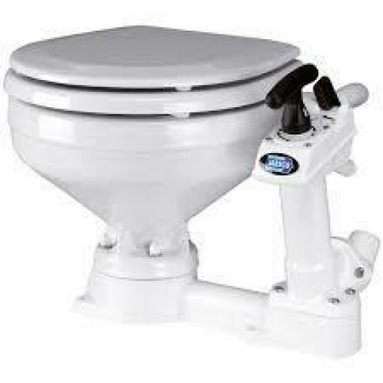 Jabsco Toilet Regular handbediend - grote pot