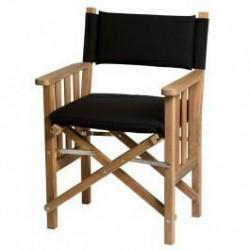 Kussen zwart Reg. stoel II