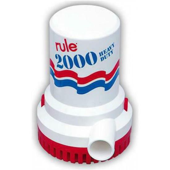 Rule Dompelpomp 2000-12 24 V - 7571 ltr-h.