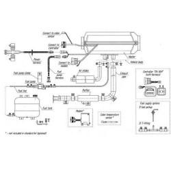 Planar Heteluchtverwarming 44D 12V 4kW